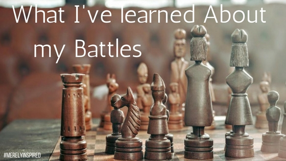 What I've Learned About my Battles